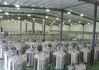 貴州貴陽果酒發酵罐工程