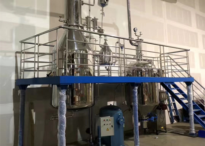 湖北武漢蒸餾器工程案例