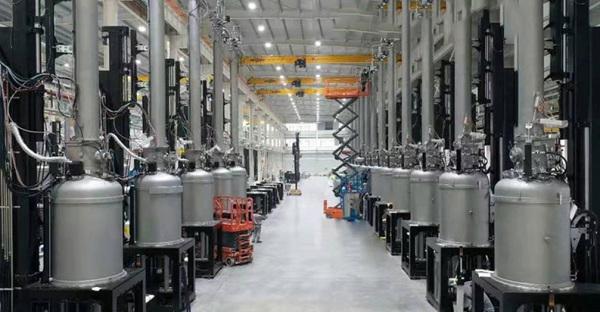 單晶硅提煉爐適用現場