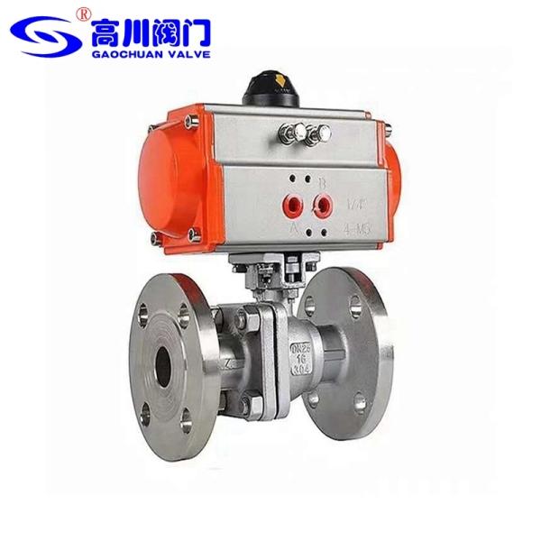 Q641F/H型-不銹鋼氣動球閥