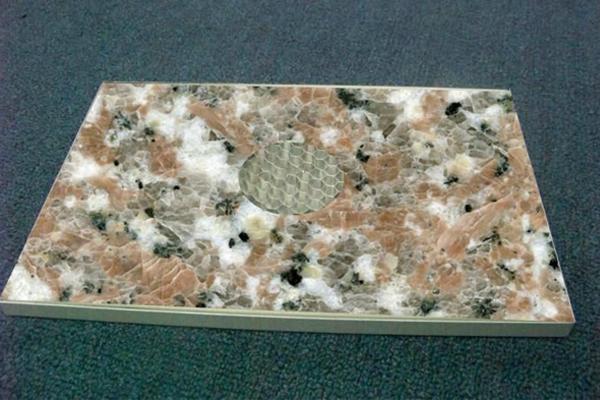 石材鋁蜂窩板的三種安裝方式