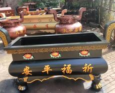 銅香爐雕刻內容的寓意及用途