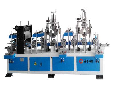 壓花設備-YH200-3門套線條壓花機