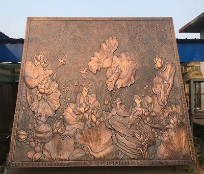 易縣鍛銅浮雕