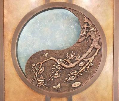 室內銅浮雕裝飾