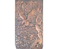 鍛銅浮雕-大展宏圖