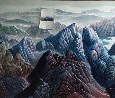 平頂山浮雕畫