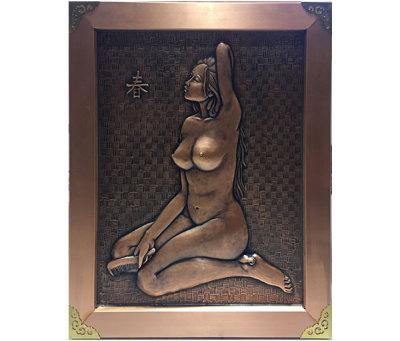 銅浮雕雕塑