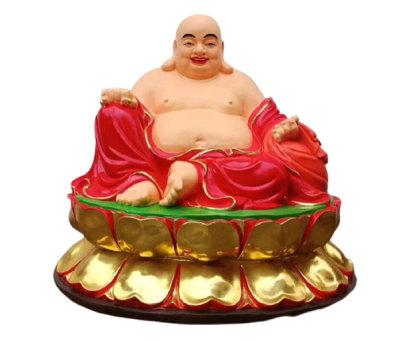 彌勒佛銅像