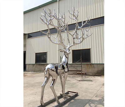 不銹鋼 寫實鹿