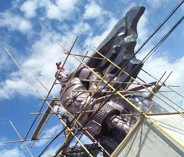 大型銅雕塑