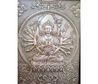 鍛銅浮雕-佛教銅浮雕