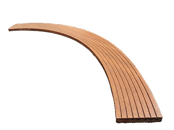 弧形戶外重竹地板
