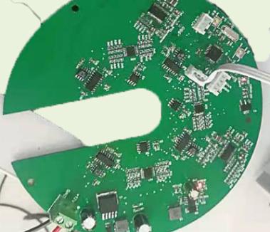 交流电磁场强度测量电路板