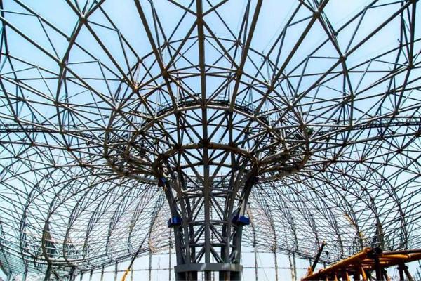 新疆球形網架鋼結構