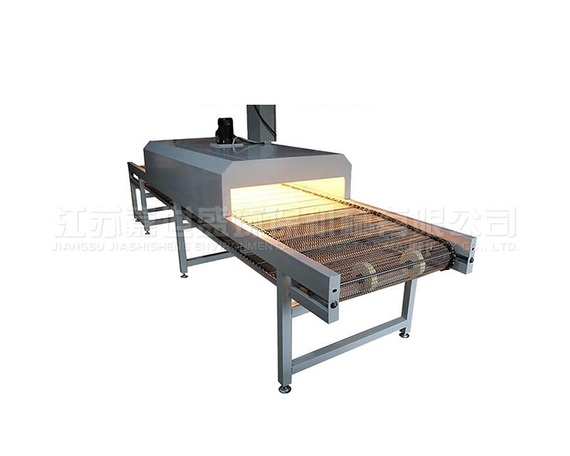 网带烘干炉的区段特点是什么?