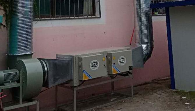 青州市中醫院選用我公司油煙凈化器