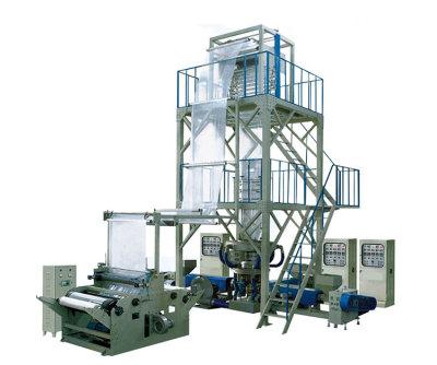 DYSJ-45X3.FM1000-SJ-50X3.FM1200-SJ-55X3.FM1500-三層共擠旋轉機頭吹膜復合機組