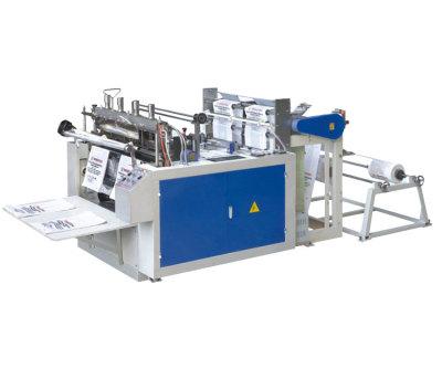 GQR-350X2、450x2電腦熱封熱切制袋機(雙道)