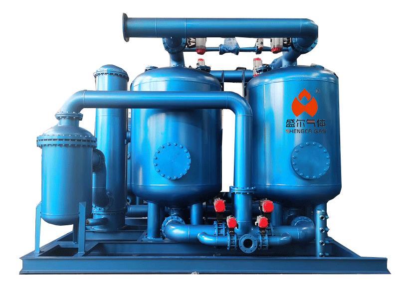 Regeneration dryer production