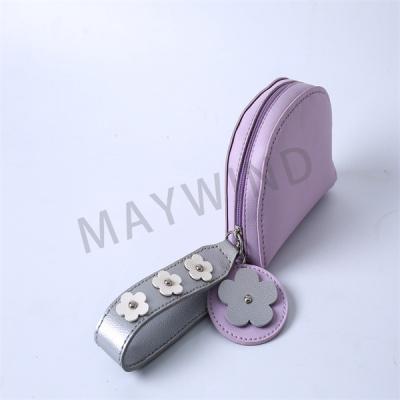 DIY手工缝制小花包-紫色