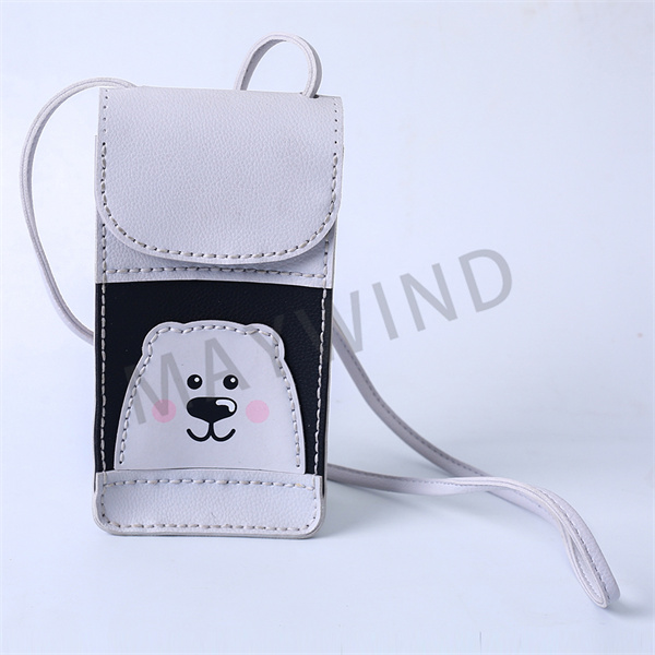 手工缝制立体手机包-白色