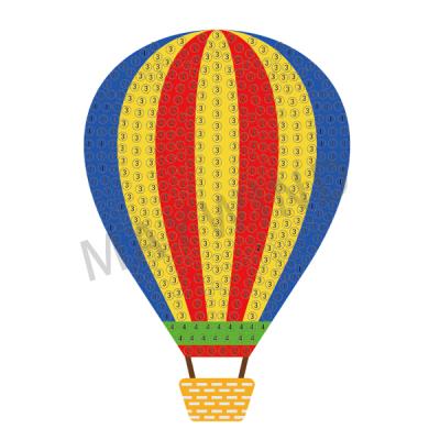 热气球钻石画