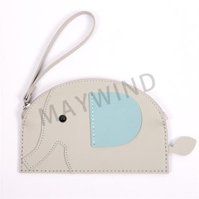 大象缝制手工包-灰色