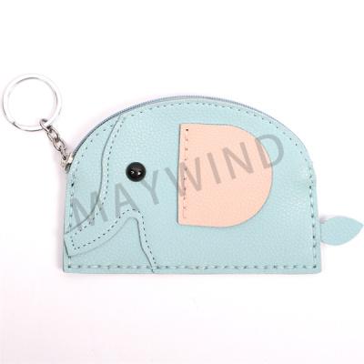 大象手工缝制动物挂件-蓝色