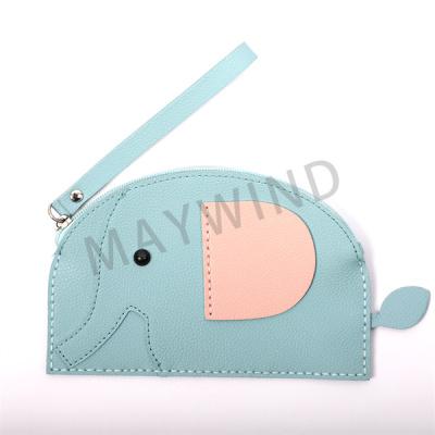 大象缝制手工包-蓝色