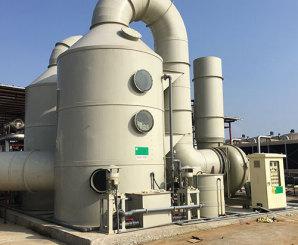 泰和PP廢氣處理塔