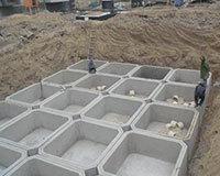 水泥化糞池