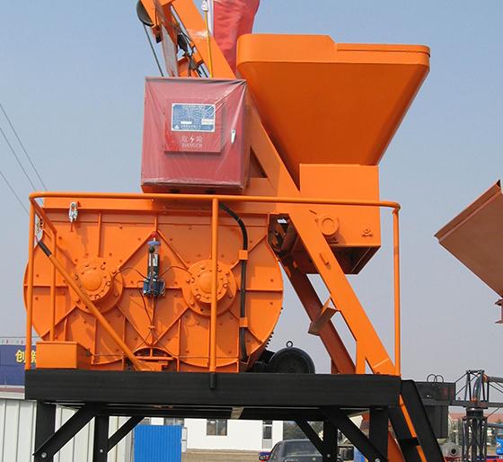 JS500系列混凝土攪拌機