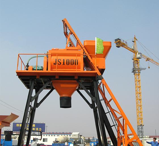 JS1000系列混凝土攪拌機