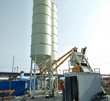 HZS35混凝土攪拌站