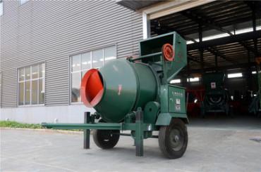 混凝土攪拌機的起源與發展