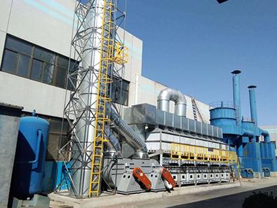 環保催化燃燒設備的工作原理是什么