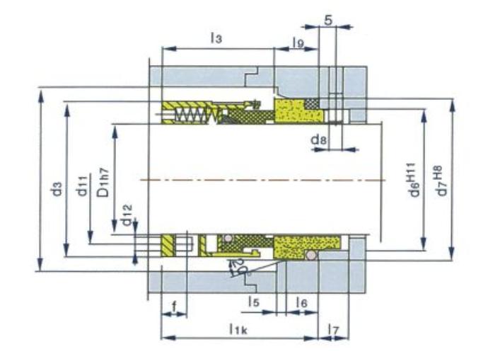泵用機械密封59U/58U型