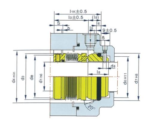 泵用機械密封MFL85N型