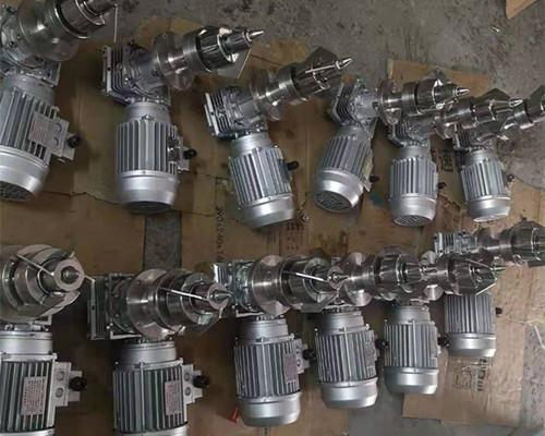 上海松江磁力搅拌机案例