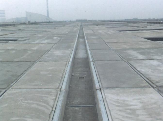 钢骨架轻型天沟板