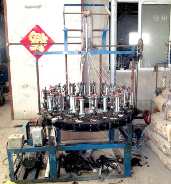 低速168系列36錠鋼絲編織機