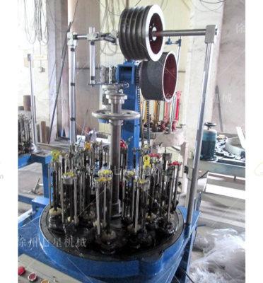 24錠水暖管編織機