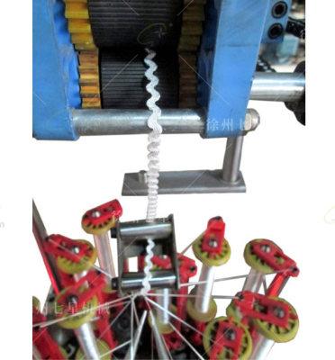 17錠波紋帶編織機