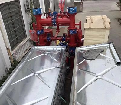 泰州羅科雷森大模塊箱泵一體化水箱