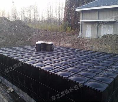 地埋式箱泵一體化給水設備