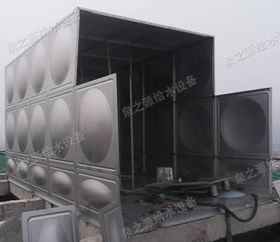 消防不銹鋼水箱安裝