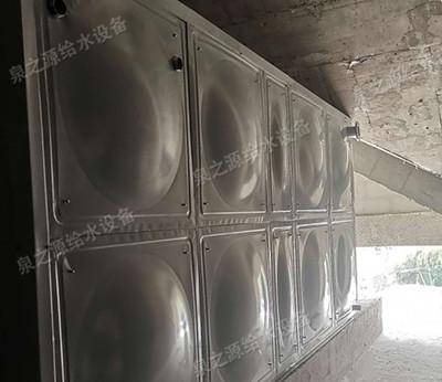 不銹鋼消防水箱安裝