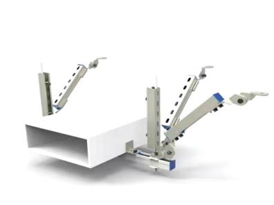 電纜橋架雙向抗震支架