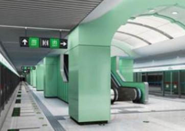 北京地鐵8號線3期 (抗震支架)
